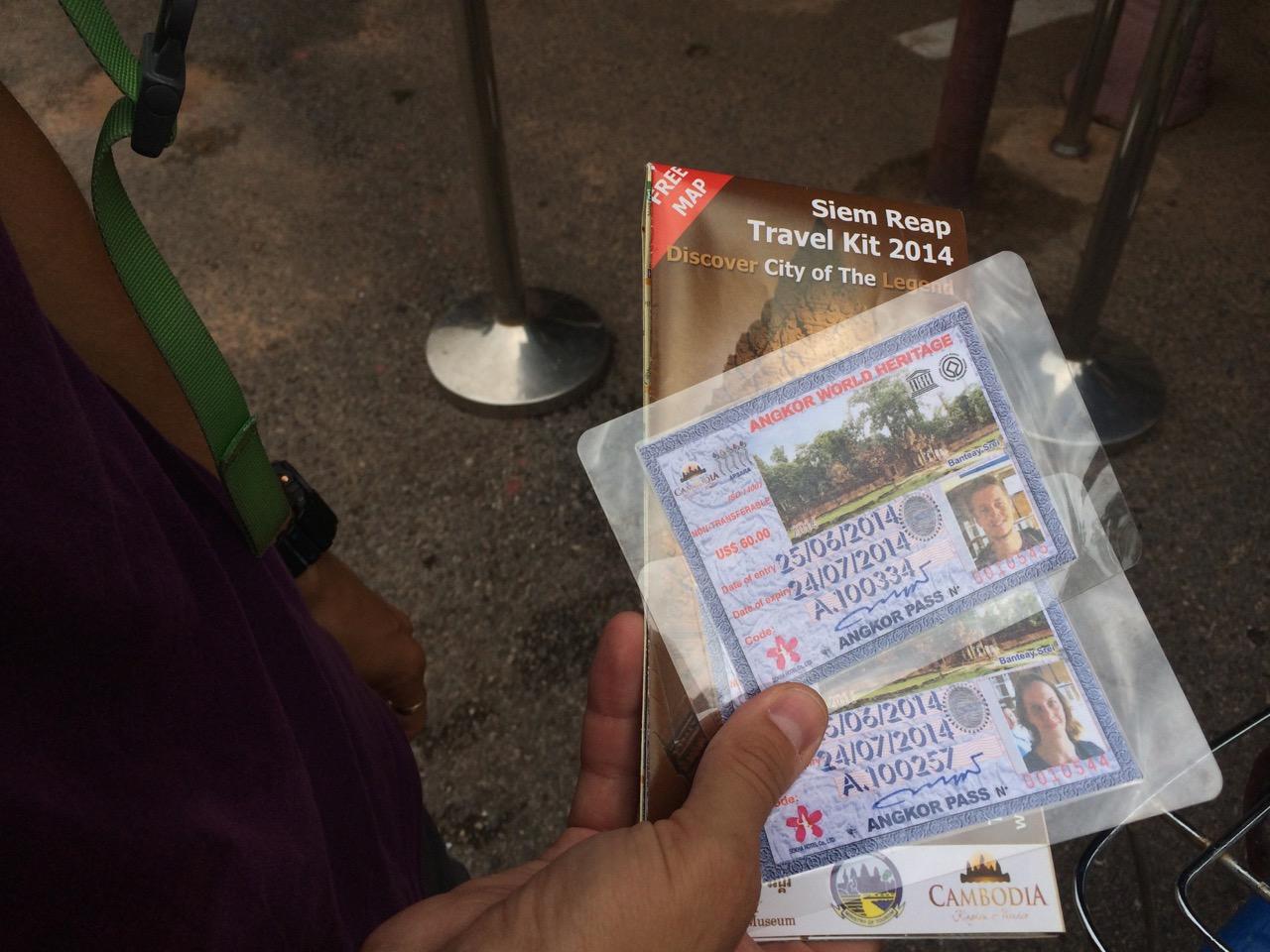 Путешествие по Камбодже: Пропуск в Ангкор