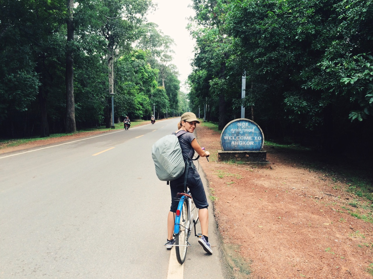 Путешествие по Камбодже: Велосипед — лучший транспорт