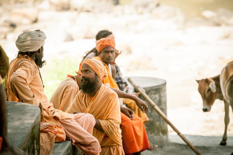 Путешествие по Индии: Персонажи на берегу священной Ганги