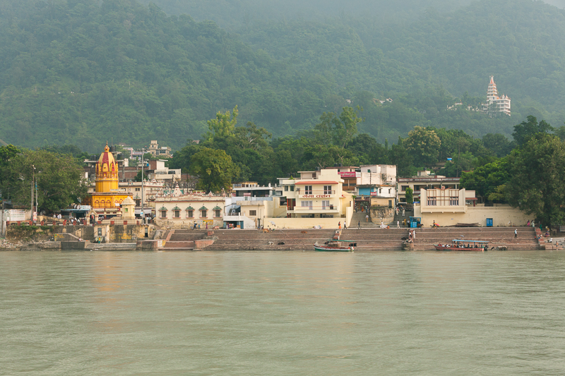 Путешествие по Индии: Гаты рядом с Ram Jhula