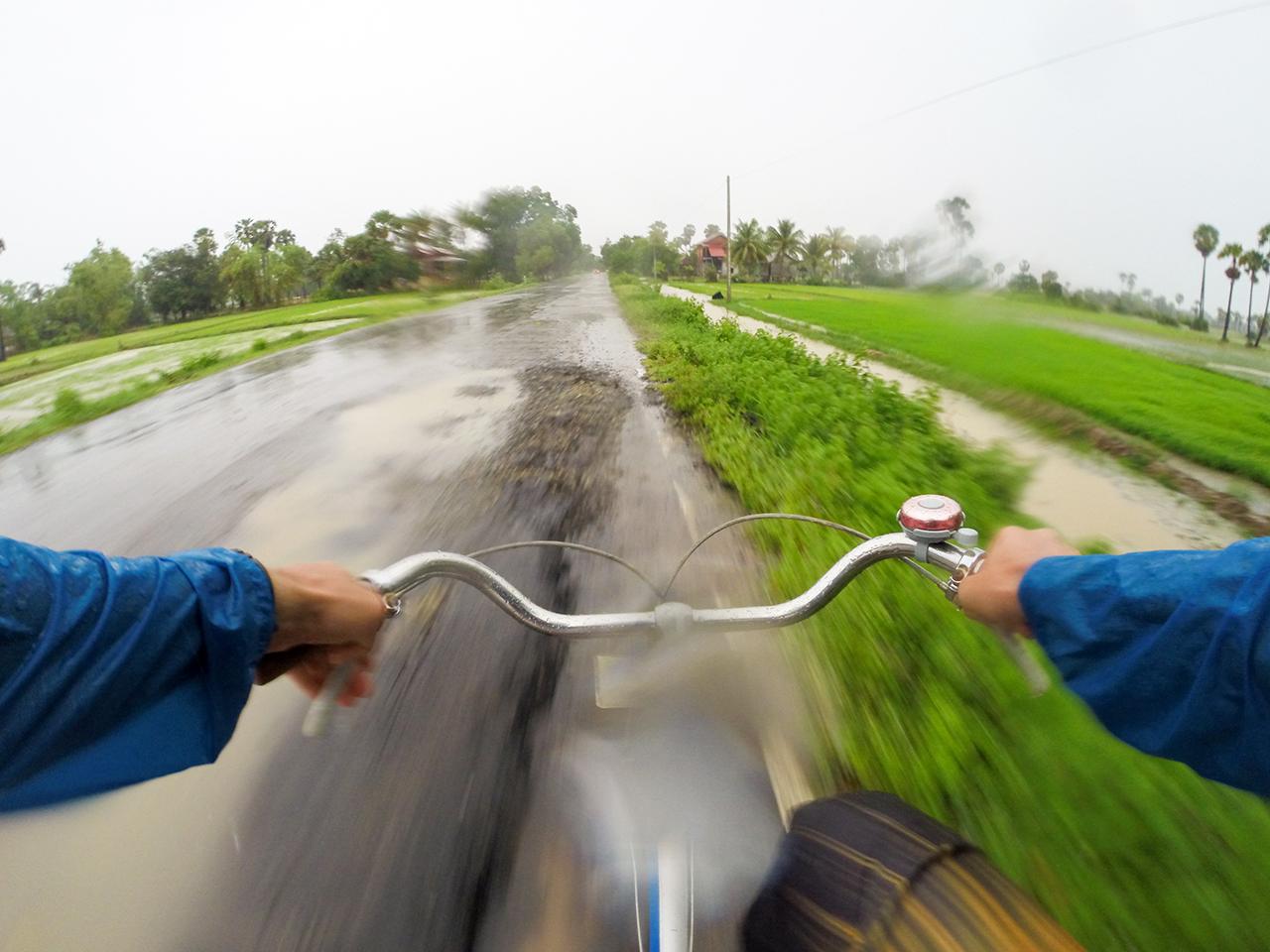 Как сэкономить в путешествии: На велосипеде в Камбодже