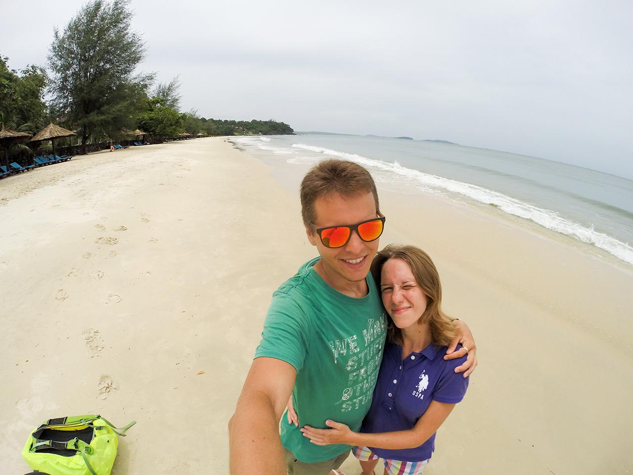 Путешествие по Камбодже: Пляж Сокха