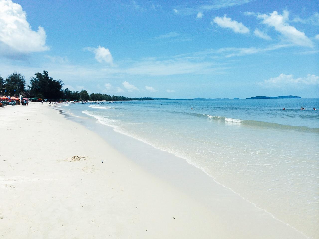 Путешествие по Камбодже: Пляж Очутель