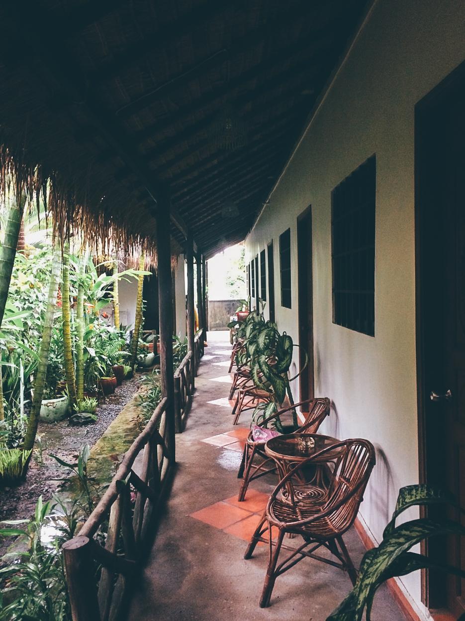 Путешествие по Камбодже: Бюджетный отель в Сиануквиле