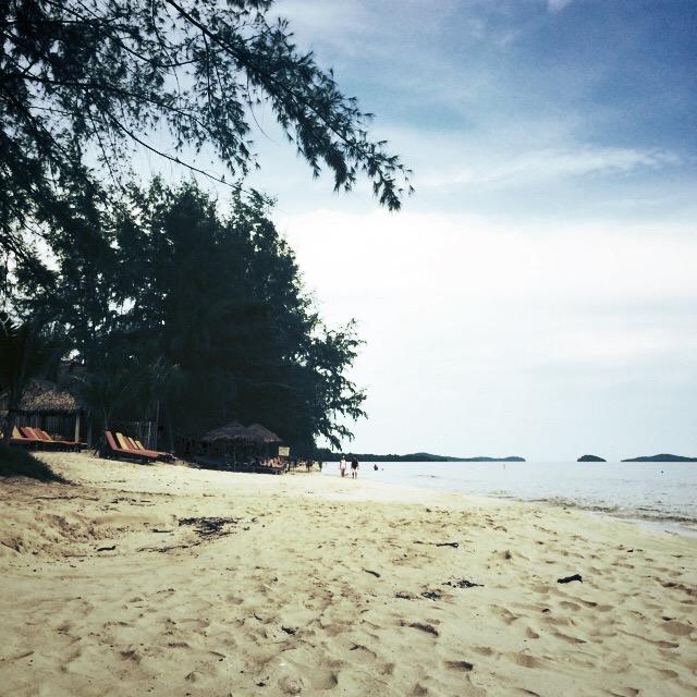 Путешествие по Камбодже: Пляж Отрес