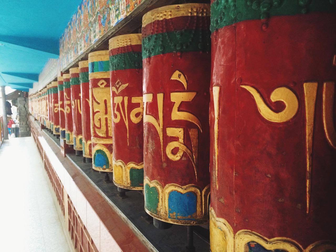 Путешествие по Индии: Молельные барабаны