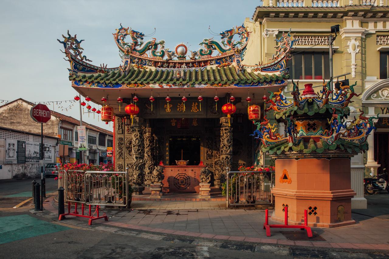 Джорджтаун, Пенанг: Китайский храм кланового дома