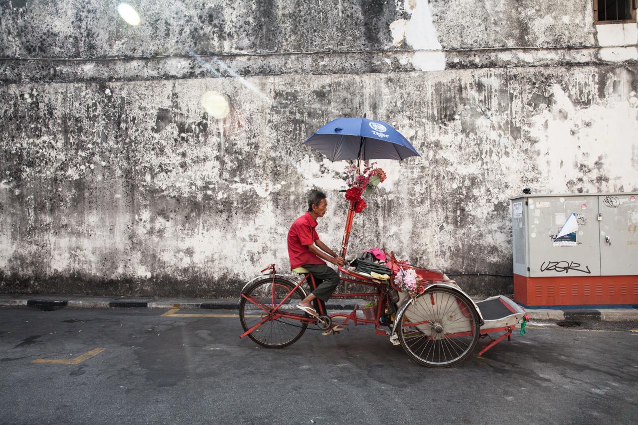 Джорджтаун, Пенанг: Велорикша