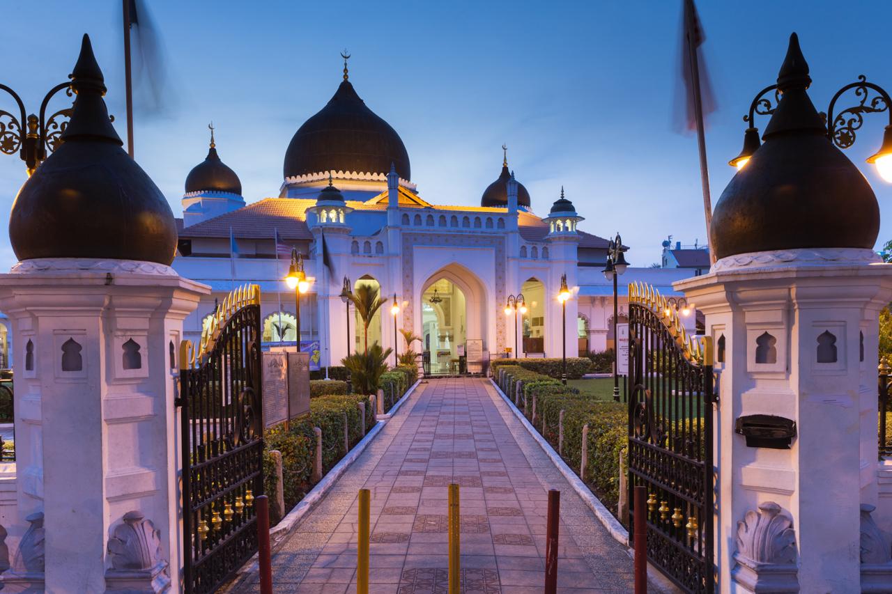 Джорджтаун, Пенанг: Мечеть 19 века в южно-индийском стиле