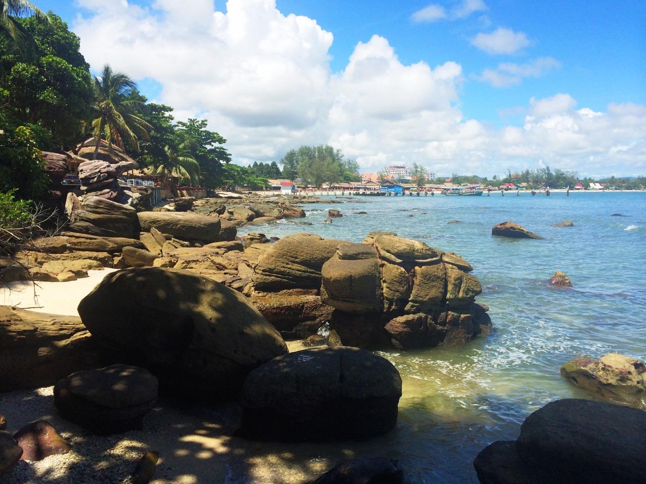 Путешествие по Камбодже: Пляж Серендипити
