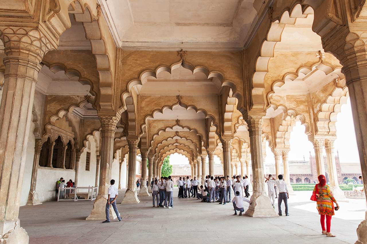 Как сэкономить в путешествии: Экскурсионная группа в Агре, Индия