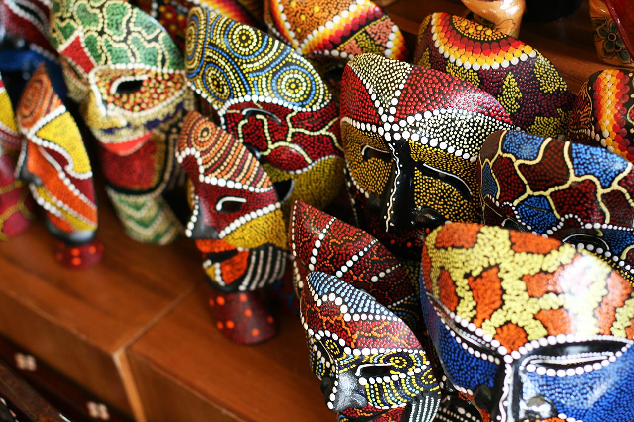 Как сэкономить в путешествии: Сувенирная лавка, Бали