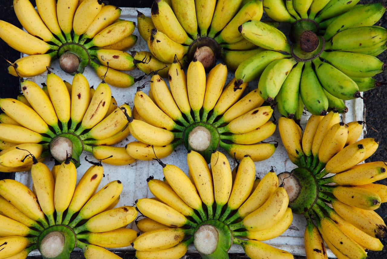 Пробуем фрукты Вьетнама: Бананы