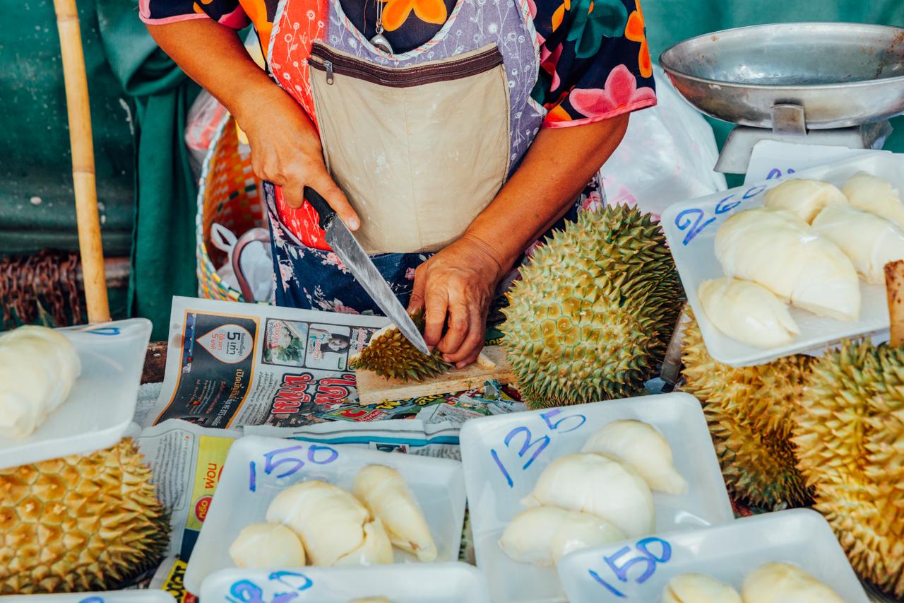 Пробуем фрукты Вьетнама: Дуриан