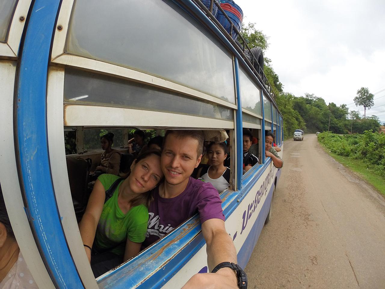 Путешествие по Лаосу: Едем в Ванг Вьенг