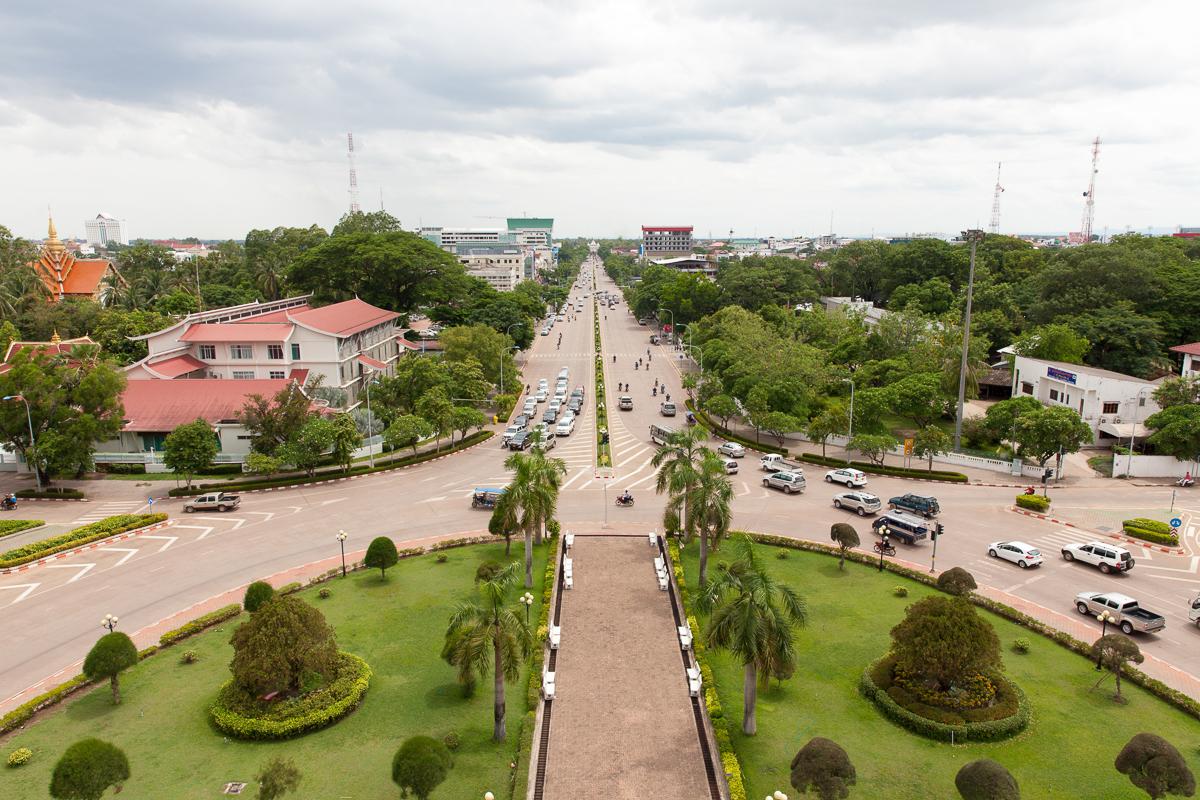 Путешествие по Лаосу: Вьентьян
