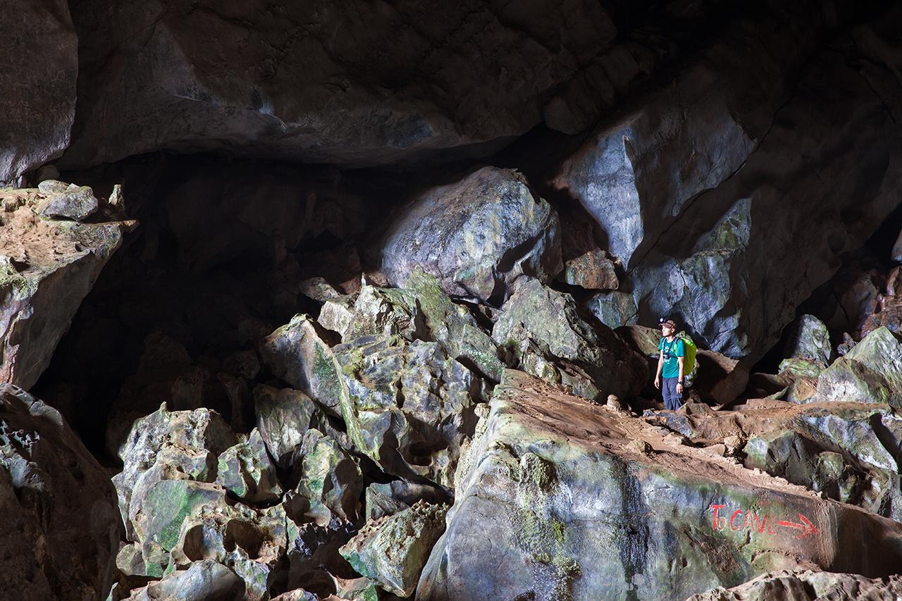 Путешествие по Лаосу: Пещера Tham Phu Kham