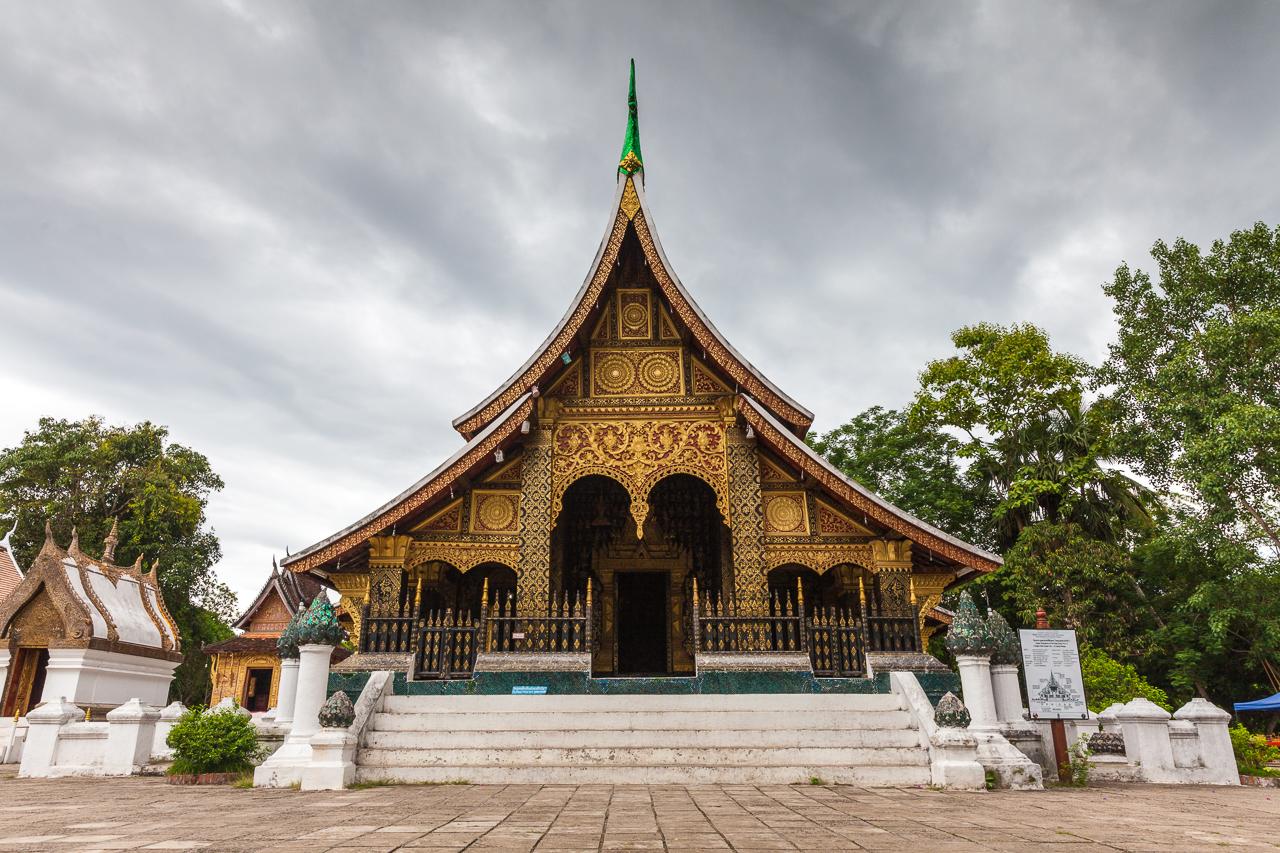 Путешествие по Лаосу: Ват Сиенгтхонг — буддийский храм 16 века