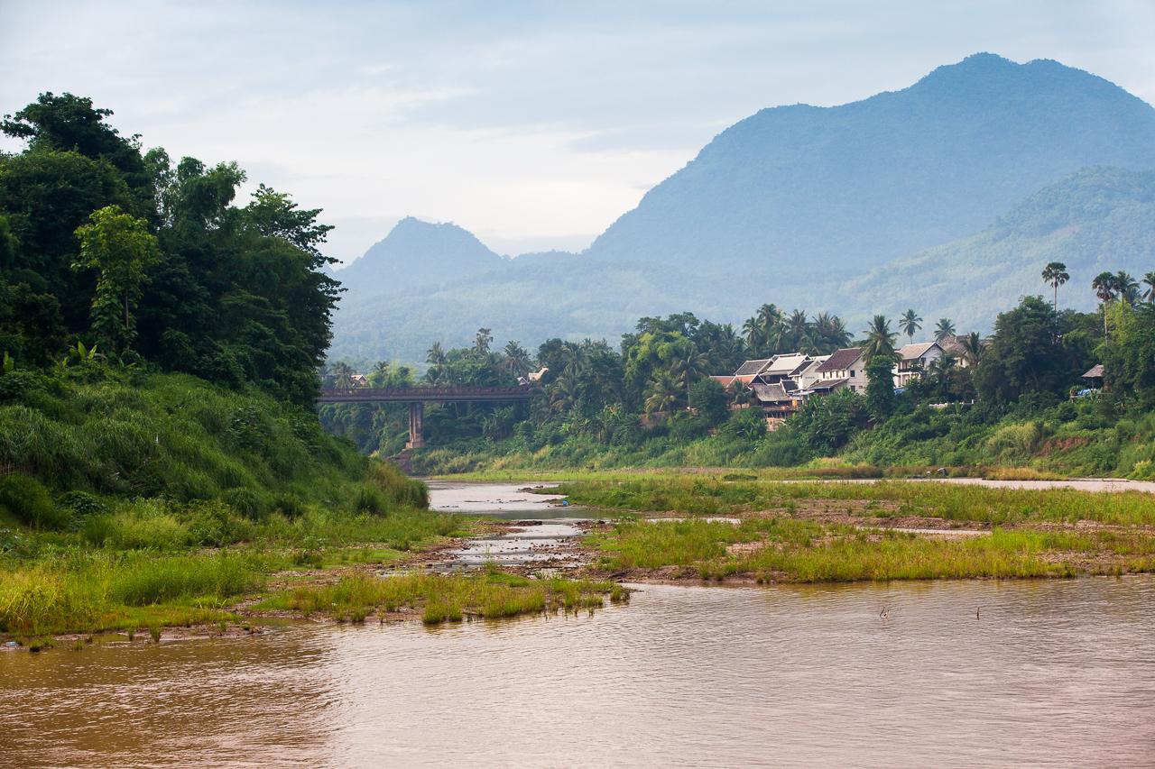Путешествие по Лаосу: Река Кхан