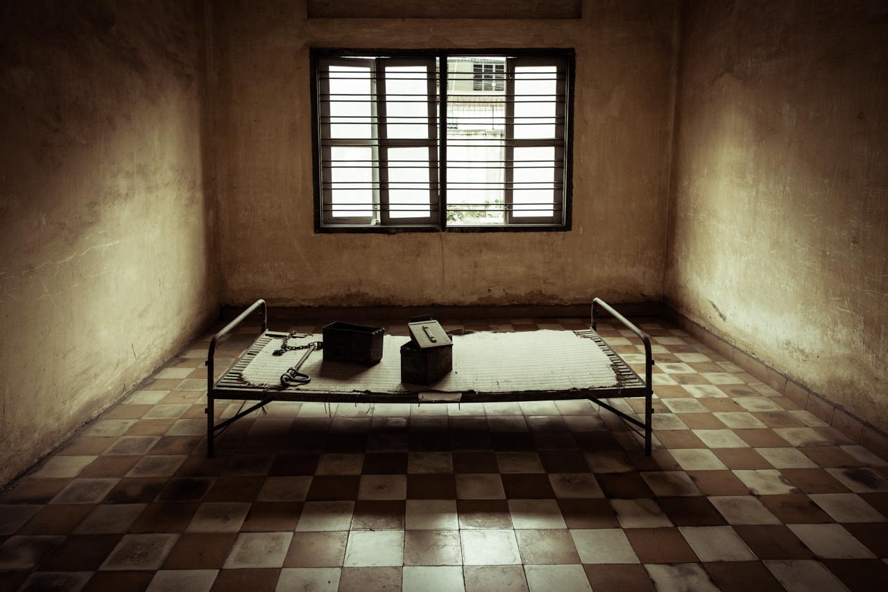 Путешествие по Камбодже: Камера пыток...