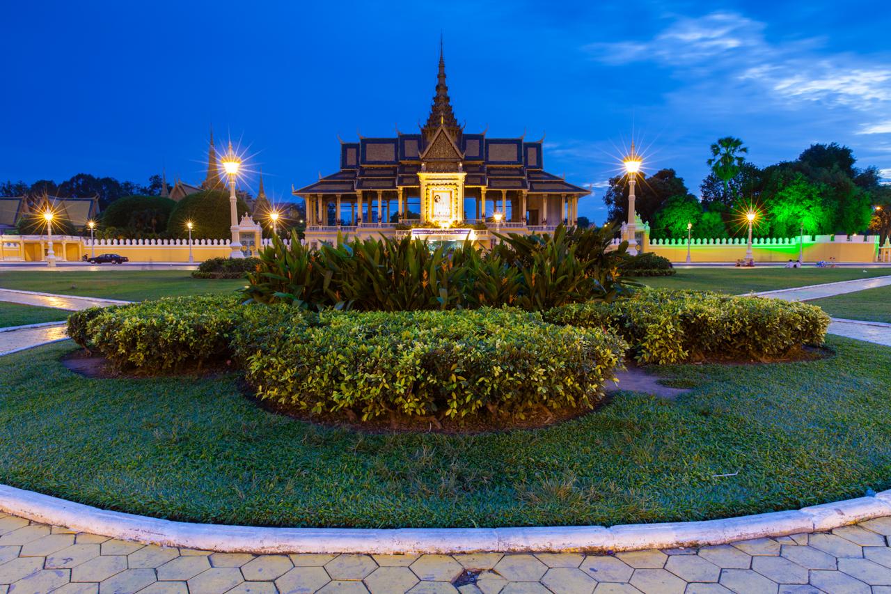 Путешествие по Камбодже: Королевский доврец