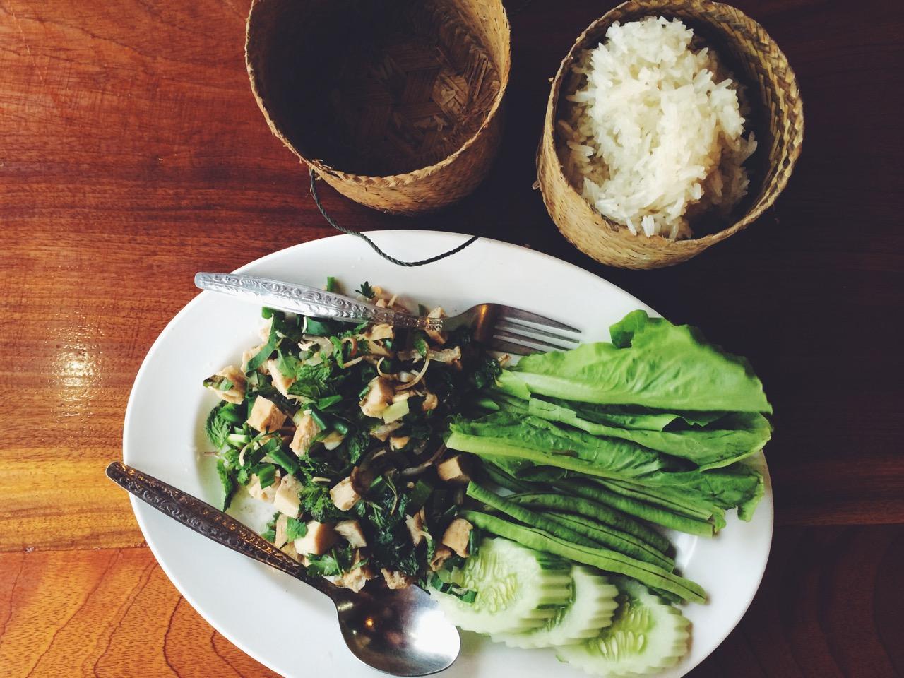Путешествие по Лаосу: Лаосская кухня