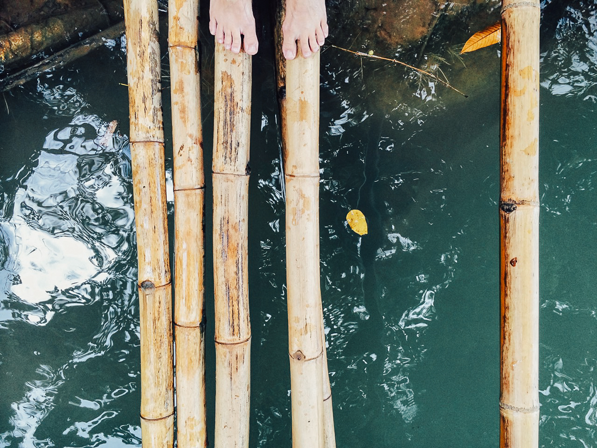 Путешествие по Лаосу: Голубая Лагуна