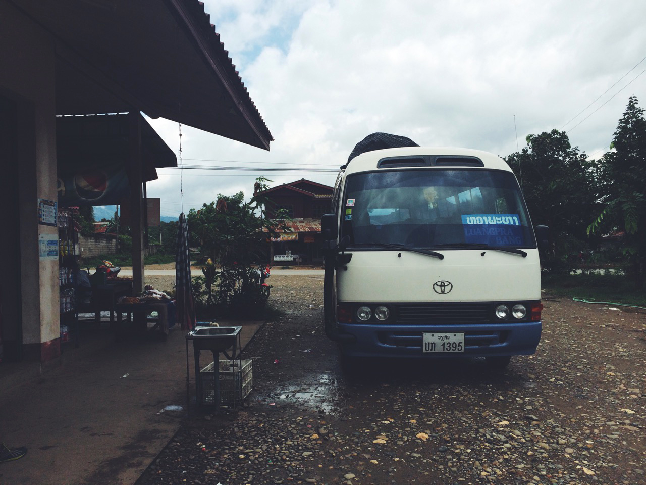 Путешествие по Лаосу: Микроавтобус до Луанг Прабанга