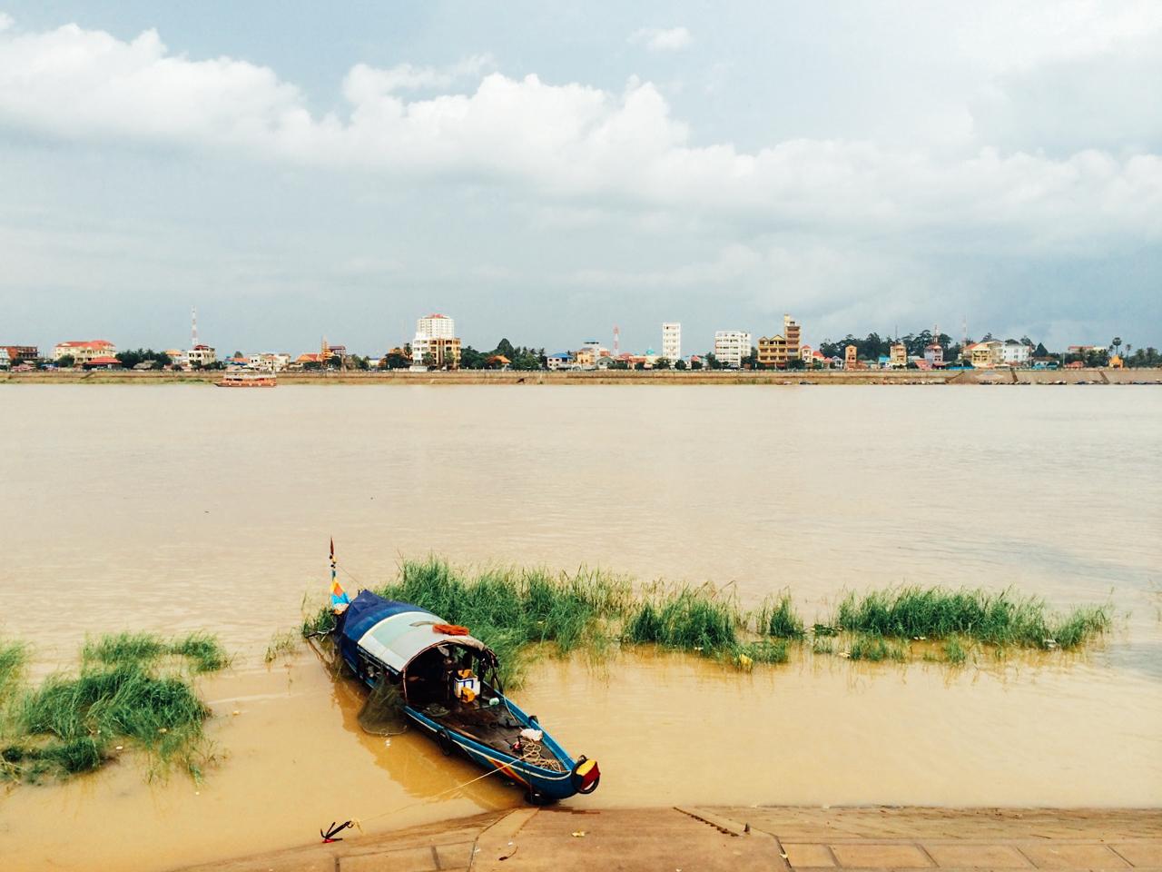 Путешествие по Камбодже: Место слияния Тонле Сап с Меконгом