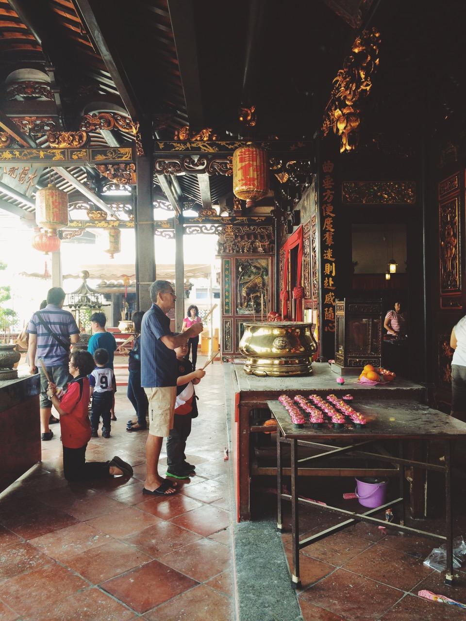 Храм Чен Хун Тен, Малакка, Малайзия