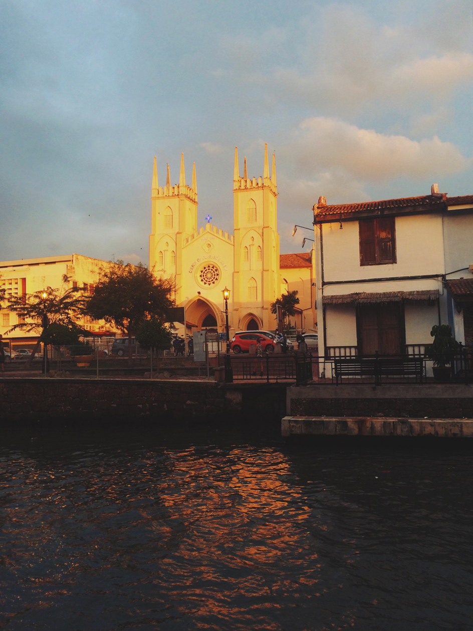 Церковь Святого Франциска Ксаверия, Малакка, Малайзия