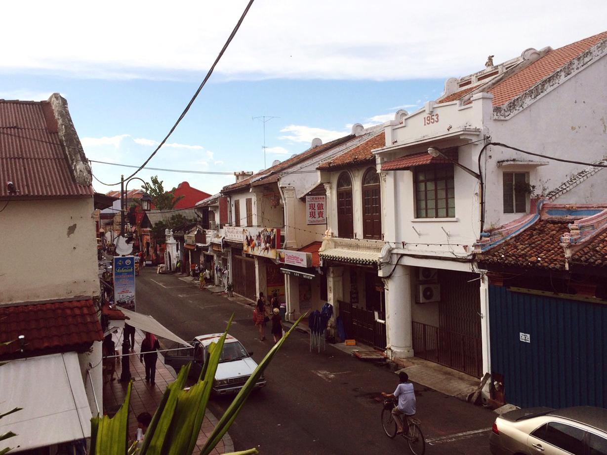 Улочки исторического центра Малакки, Малайзия