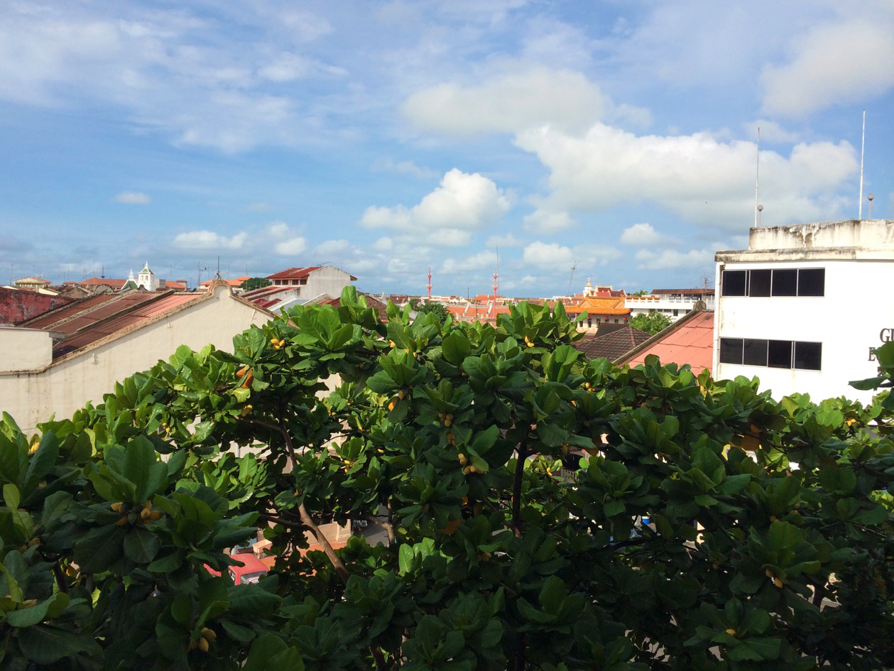 Вид из номера, Малакка, Малайзия