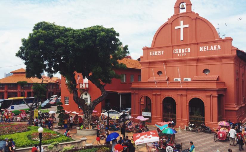 Малакка — образцовый колониальный порт в Малайзии