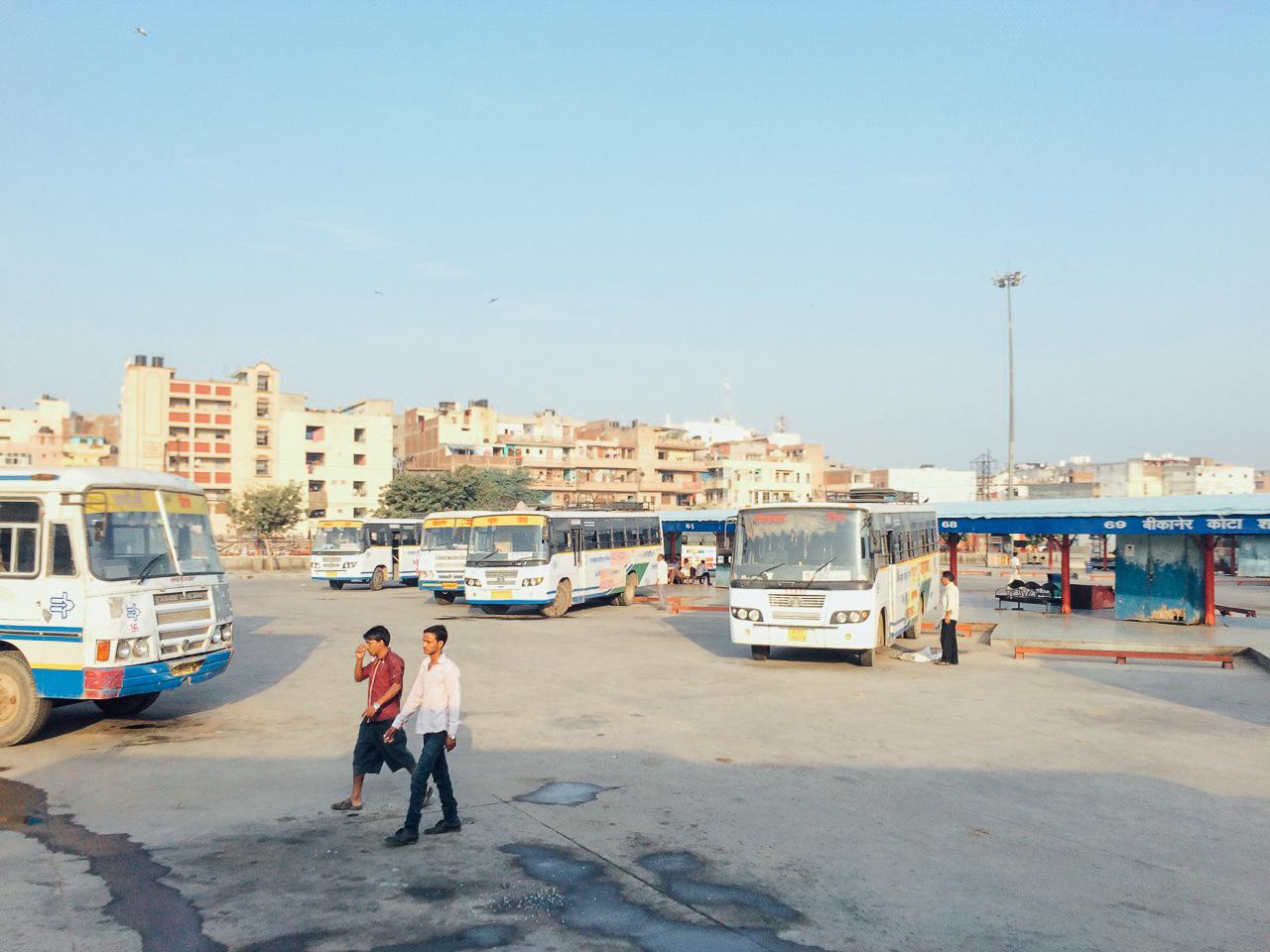 Путешествие по Индии: Терминал Veer Hakikat Rai ISBT, Дели