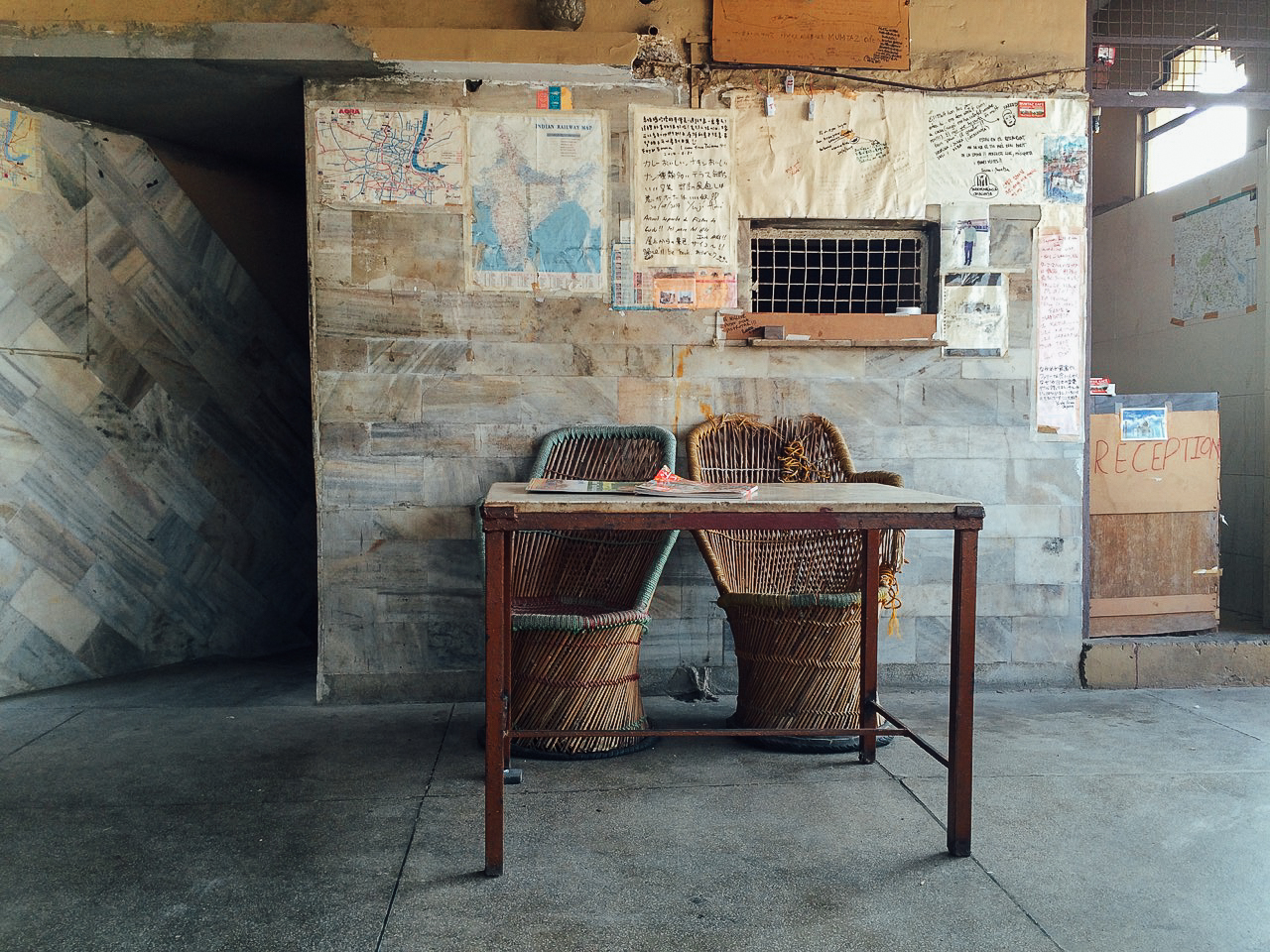 Путешествие по Индии: кафе на крыше, Агра