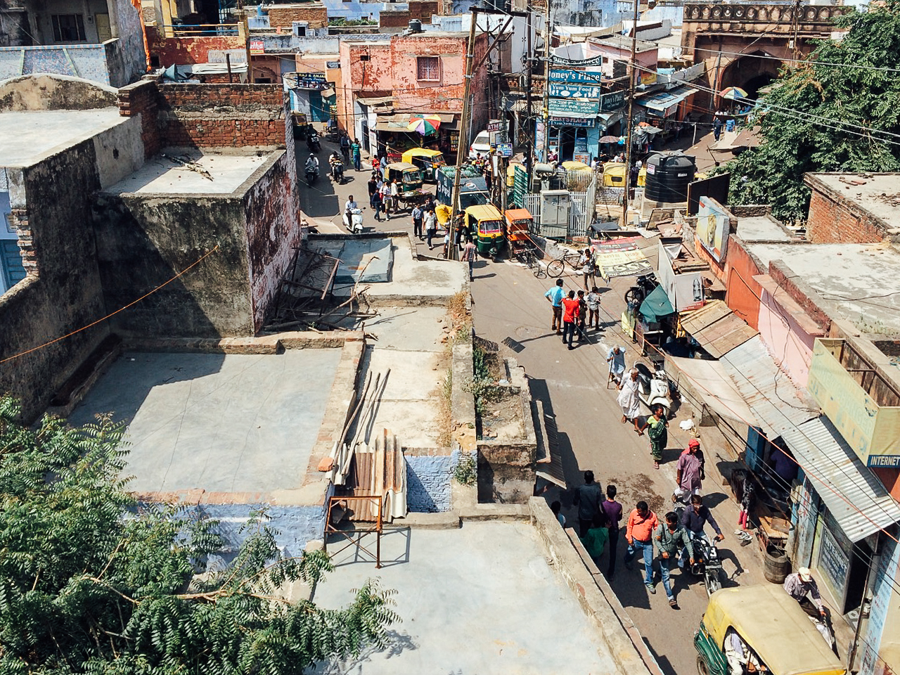 Путешествие по Индии: Таджганж, Агра