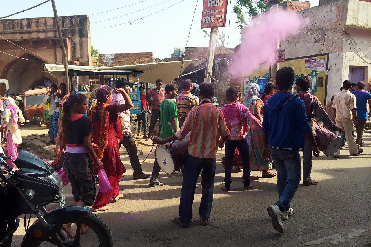 Путешествие по Индии: Дурга-пуджа в Агре