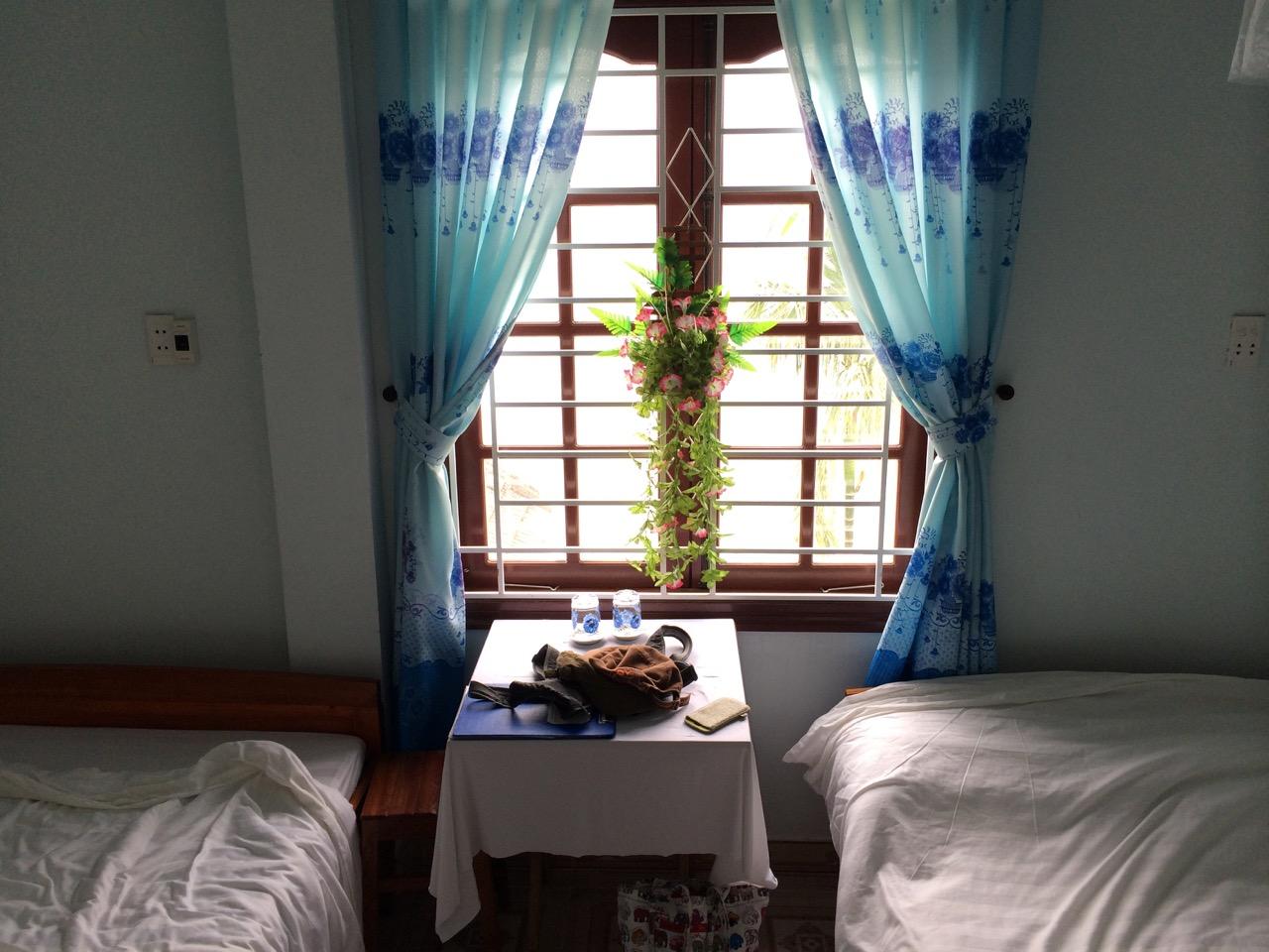 Путешествие по Вьетнаму: комната в хоумстее, Хойан