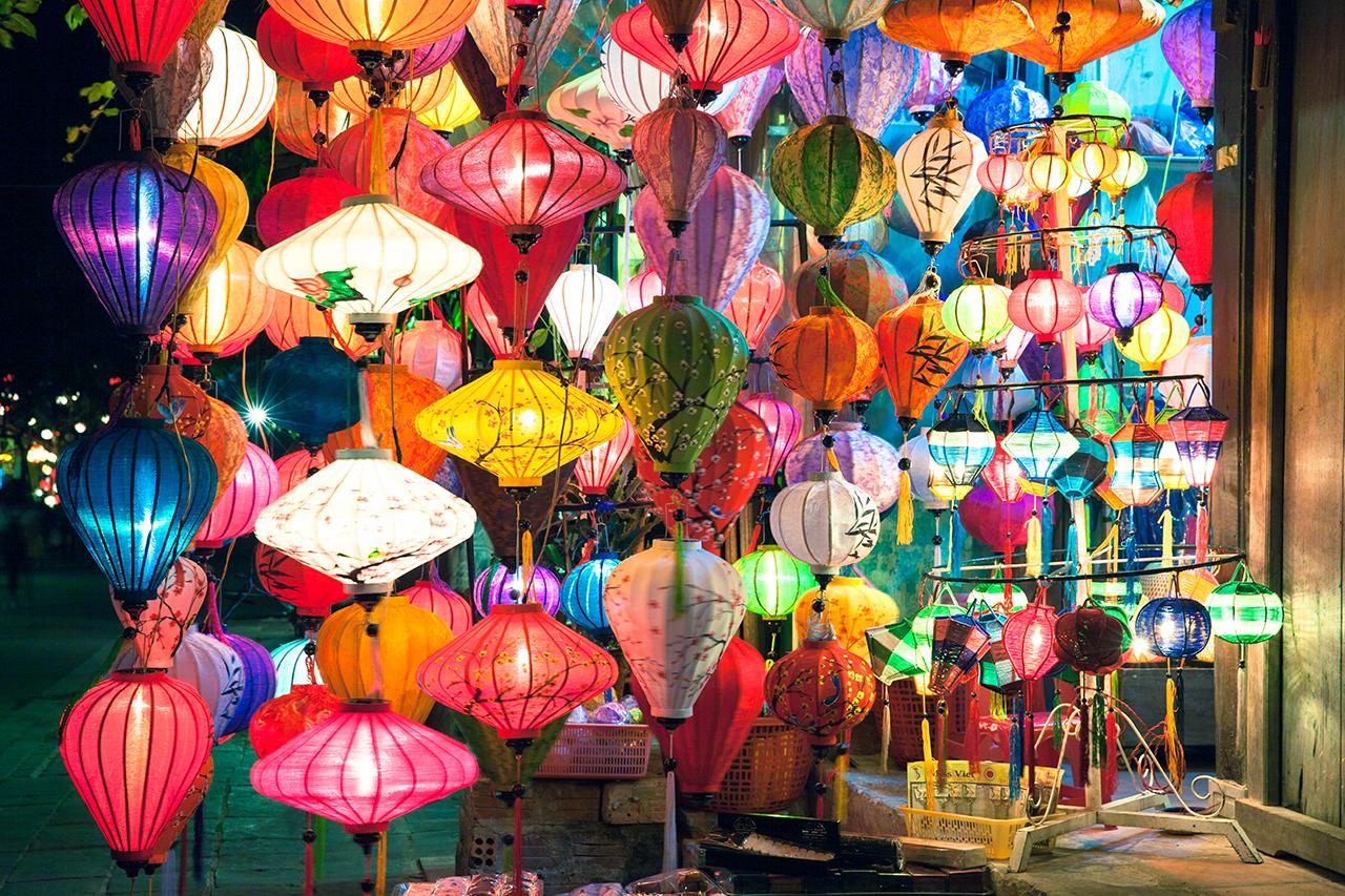 Путешествие по Вьетнаму: Магазин фонариков, Хойан