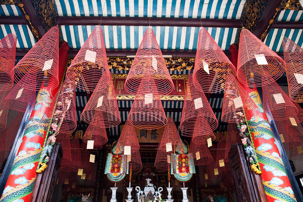 Путешествие по Вьетнаму: Китайский храм, Хойан