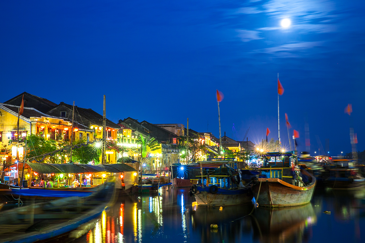 Путешествие по Вьетнаму: Полнолуние в Хойане