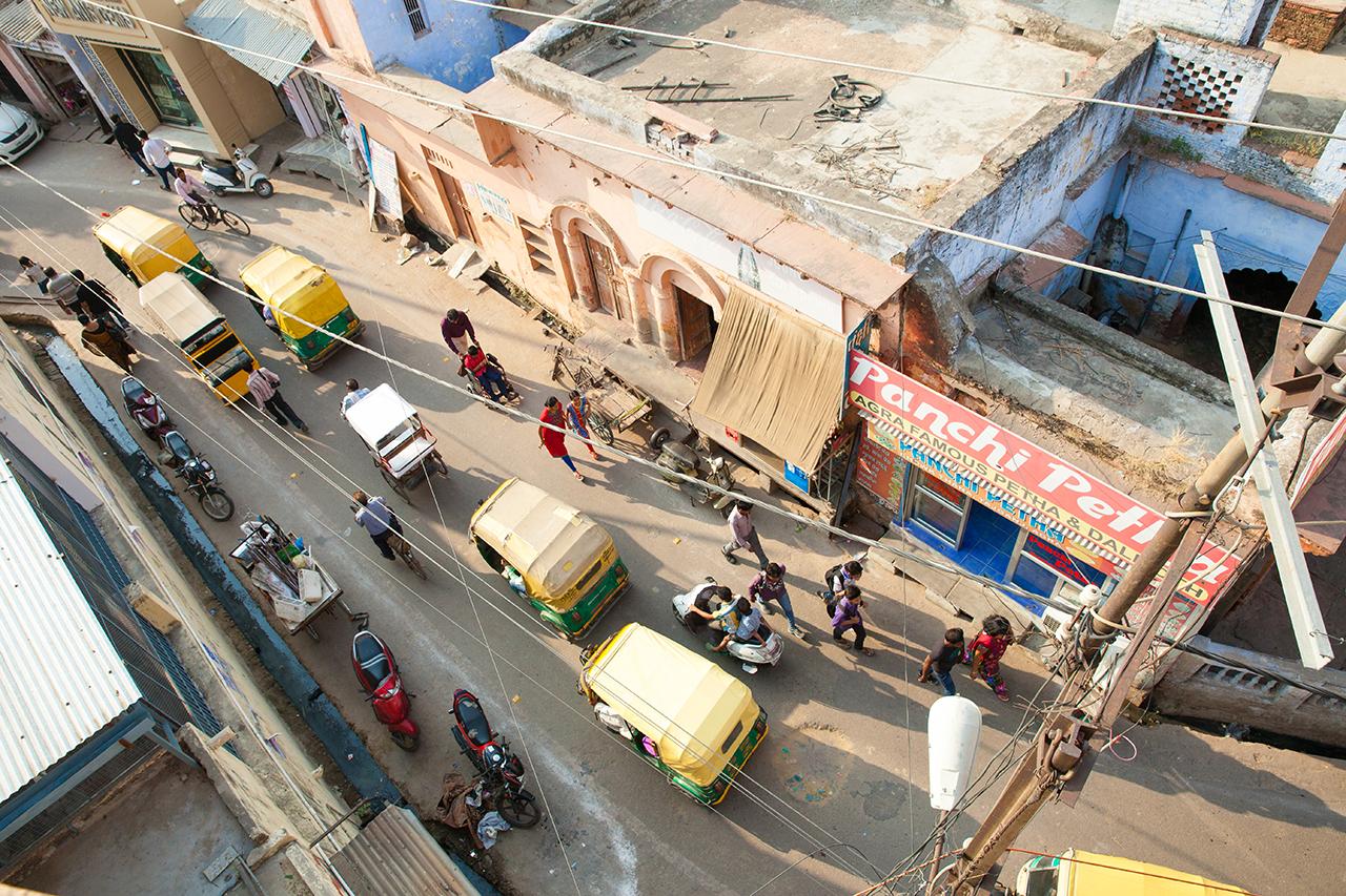 Путешествие по Индии: Улицы Агры