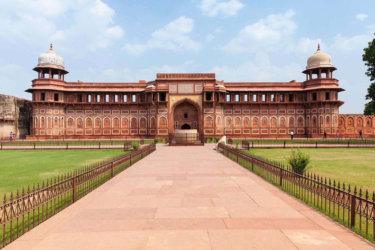 Путешествие по Индии: Джахангир Махал, Красный Форт Агры