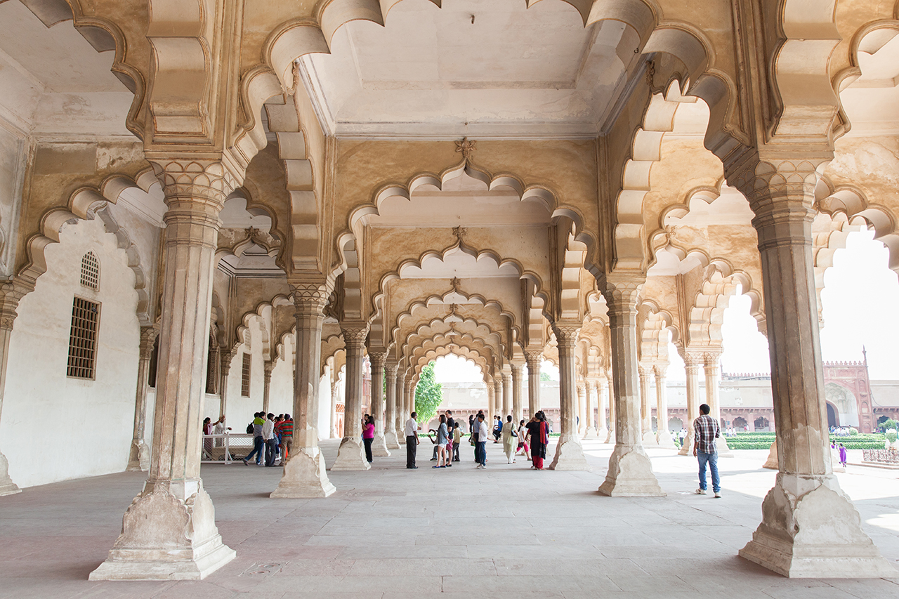 Путешествие по Индии: Зал для аудиенций, Красный Форт Агры