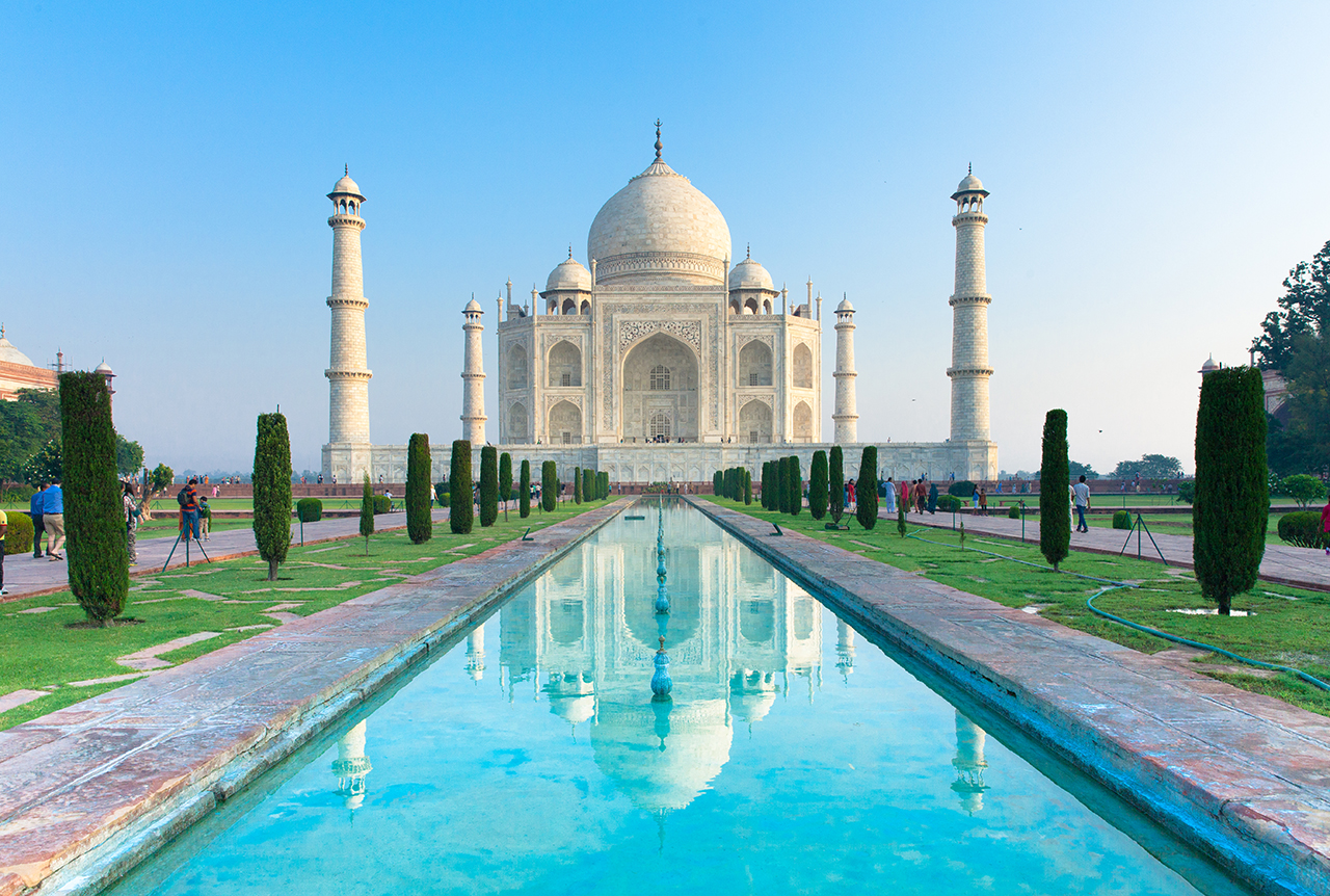 Путешествие по Индии: Тадж-Махал, Агра