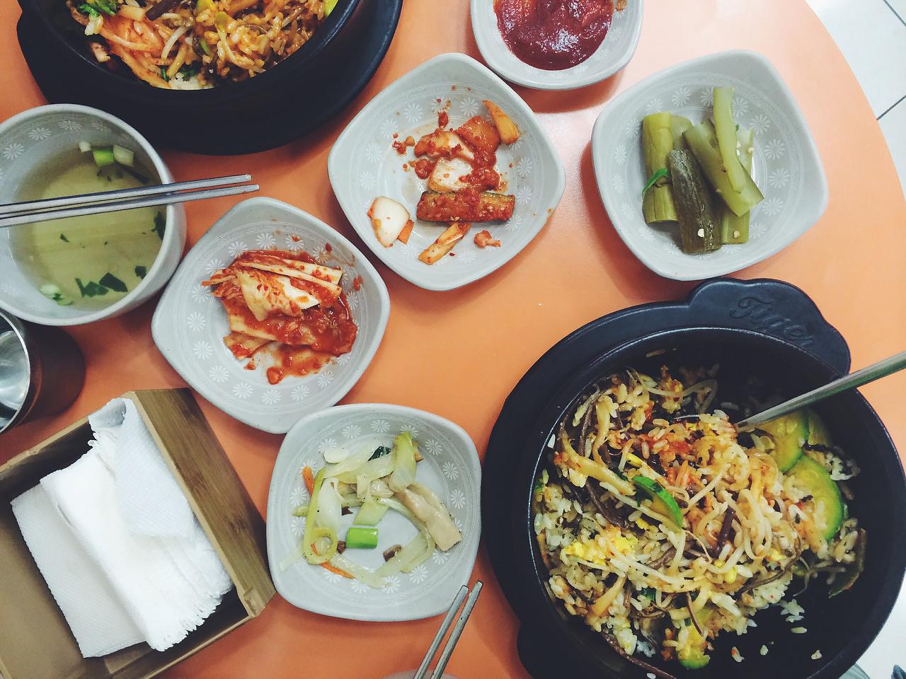 Путешествие по Южной Корее, Сеул: Бибимбап и кимчи