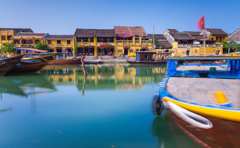 Хойан — жёлтый город на берегу моря, Вьетнам