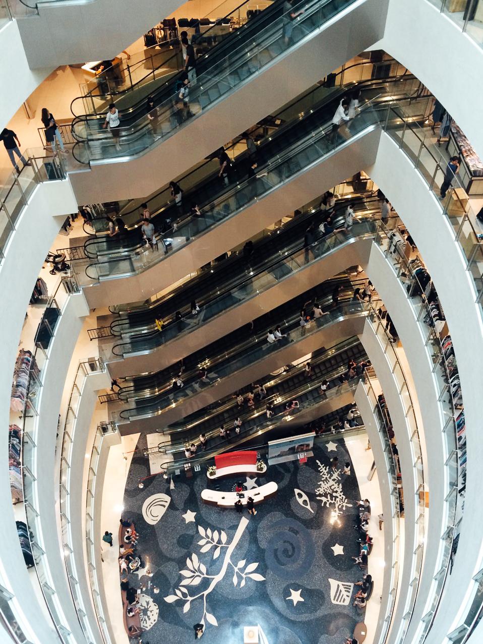 Путешествие по Южной Корее, Пусан: самый большой торговый центр в мире