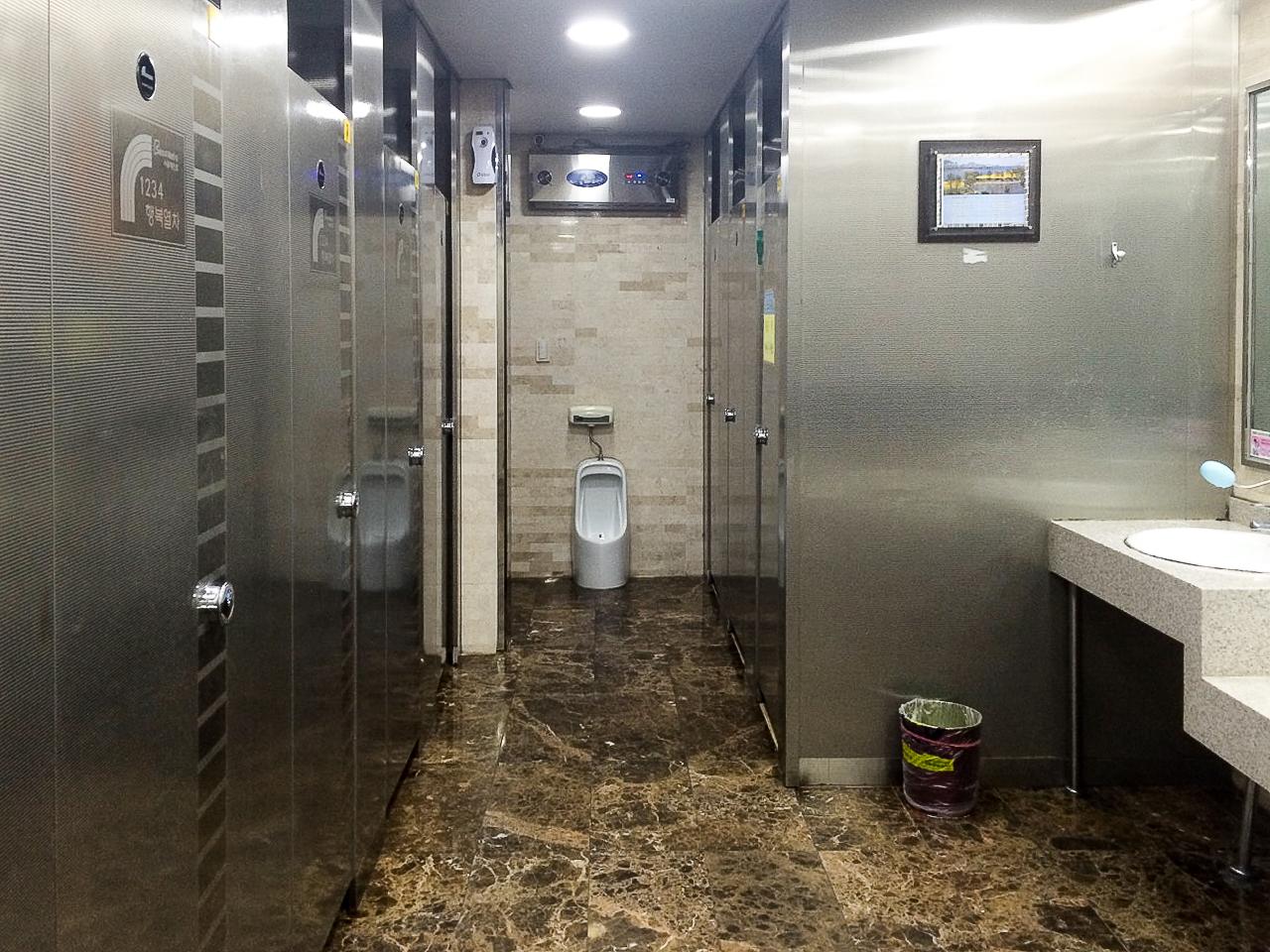 Заметки о Корее: туалет в метро